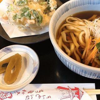 かき揚げめん(温かい麺)(春夏秋冬 )