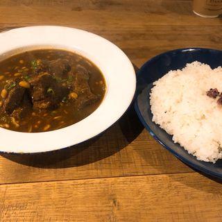 納豆の発酵カレー(sync)