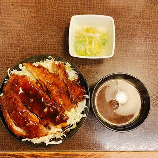 ソースカツ丼セット(大)(味べい 本町店 (あじべい))