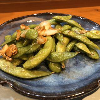 枝豆のアーリオオーリオ(塩梅)