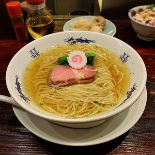 山椒そば(中華蕎麦にし乃)