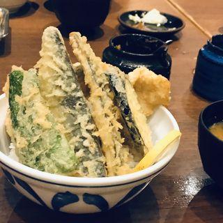 トロ鯵天丼