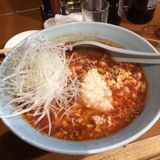 ネギタンタン麺 オールダブル(元祖ニュータンタンメン本舗 蒲田店 (がんそにゅーたんたんめんほんぽ))