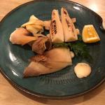 若竹焼き(大地と海のめぐみ 魚 (だいちとうみのめぐみ ぎょっ))