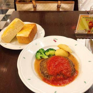 ハンバーグ(銀座みゆき館 ルミネ立川店)