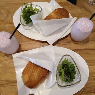 フレンチトースト(パンとエスプレッソと自由形)