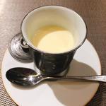 八女茶のプリン