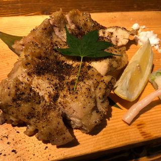 若鶏もも肉の黒七味焼き