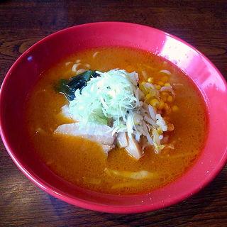 海老味噌ラーメン(麺酒庵 こまつ)