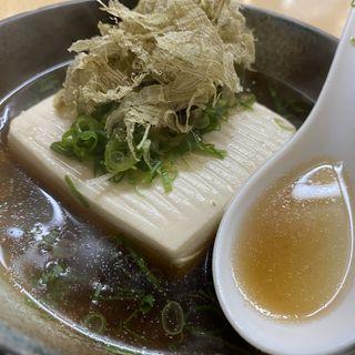 湯豆腐(正宗屋 相合橋 )