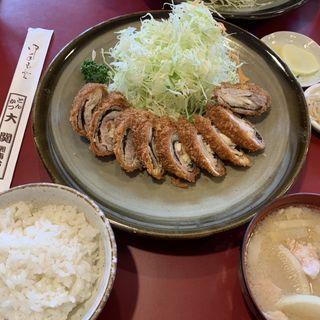 にんにく巻ロース定食(とんかつ大関 湘南台店 )