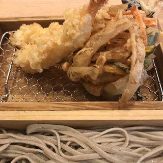 天ぷらそば(中村麺兵衛 渋谷店)