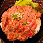ステーキ丼(大)