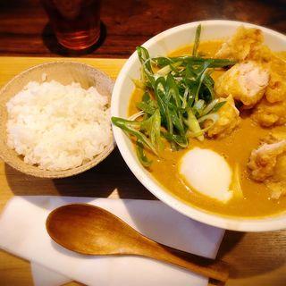 薬膳鶏天カレーうどん(本町製麺所 ゆ)