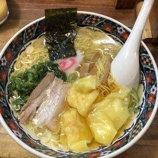海老ワンタン麺(函館ラーメン 船見坂)