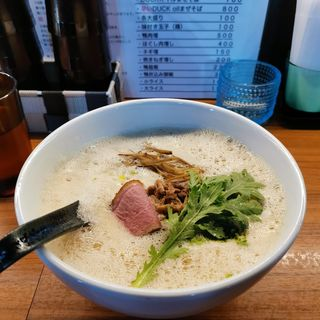 DUCK白湯醤油(Duck Ramen Eiji)