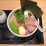 特製 真鯛醤油つけ麺
