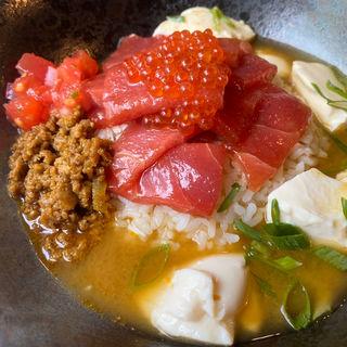 海鮮丼なスープカレー(wacca)
