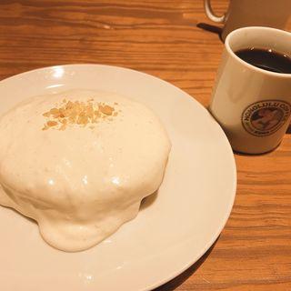 マカダミアナッツクリームパンケーキ(ホノルルコーヒー KITTE博多店)