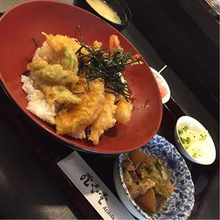 天丼定食(愛志蔵 (あじくら Ajikura))
