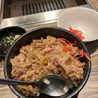牛丼(ジャンボはなれ )