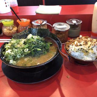 チャーシュー麺+煮豚+のり(家系ラーメン王道 王道之印)
