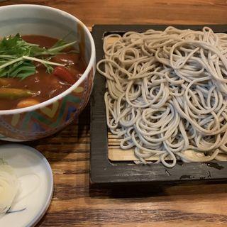 つけトマトカレー蕎麦(蕎麦酒膳くら嶋 )