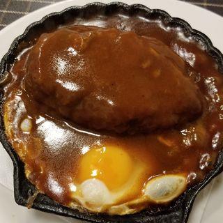 ハンバーグ(洋食キムラ 野毛店 (ヨウショクキムラ))