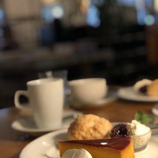 ケーキしえすた(かぼちゃプリン)(ナス・ショウゾウ カフェ (NASU SHOZO CAFE))