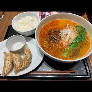胡麻香る四川風担々麺セット(デニーズ 立川南店 (Dennys))
