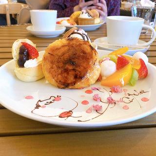 フレンチトースト(Hattendo cafelie)