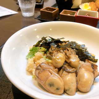 牡蠣めし(牡蠣屋)