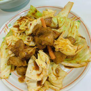 豚カルビタレ炒め(味心)