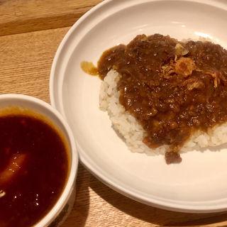 カレーセット ご飯少なめ(スープストックトーキョー アトレ四谷店 (Soup Stock Tokyo))