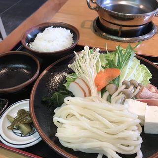 うどんすき定食(花車 (ハナグルマ))