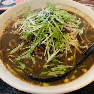 黒胡麻坦々刀削麺(静香酒家 (せいこうしゅか))