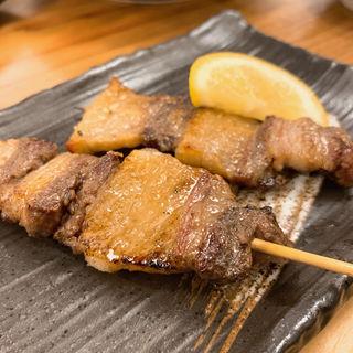 猪肉串焼き(わすれな草)