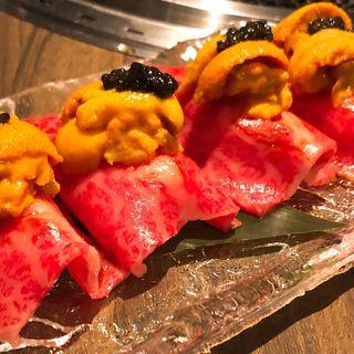 肉寿司(焼肉匠 勝善)