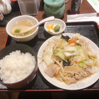 肉野菜ライス(永楽 (エイラク))