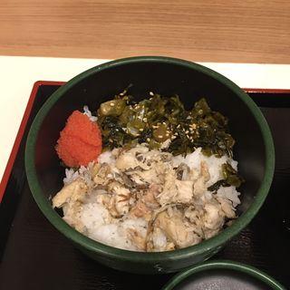 焼鯖明太子高菜ごはん(ゆで太郎名古屋住吉店)