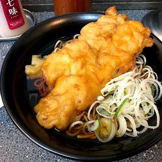 鶏からあげそば(大江戸そば 松戸店)