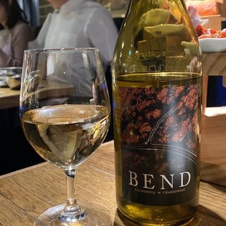 BEND 白ワイン(熟成焼肉 肉源 六本木店)