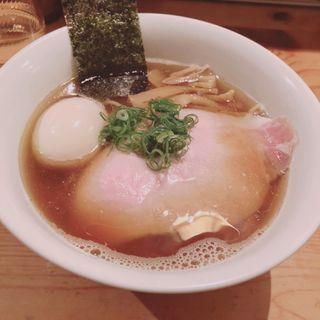 味玉醤油RAMEN(渦雷)