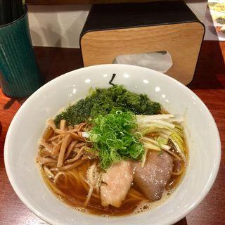 醤油らぁ麺(仙臺 くろく 定禅寺 JOZENJI )