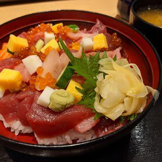 海鮮チラシ(魚寅鮨 池袋西口店 (ウオトラズシ))