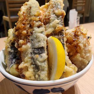 トロ鯵天丼(博多天ぷら たかお ジョイナステラス二俣川店)
