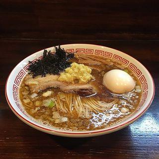 背脂生姜醤油(麺座 かたぶつ )
