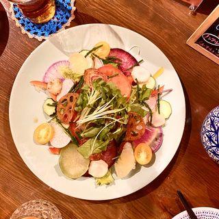 農家のお野菜サラダ(LABサラダ)(Grill & Vegetable aurLab.)