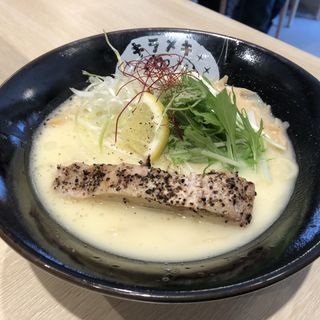 鶏白湯らーめん 塩(みんなのキラメキ★高槻1号)