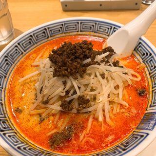 担々麺(中辛)搾菜、ご飯おかわり自由(希須林 担々麺屋 赤坂店 (キスリン タンタンメンヤ))